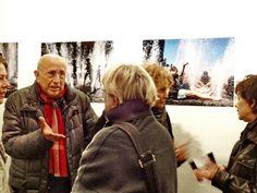 Il Maestro Franco Fontana ad Acquae Mundi presso Fusion Art Gallery, Torino