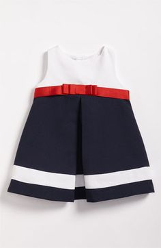 Luli & Me Piqué Dress (Infant) available at Nordstrom