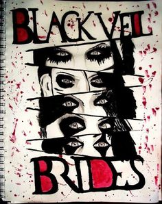 Black Veil Brides drawing. This is amazing!