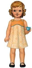 Digital Tea Party Sundress + Playsuit | Sewing Pattern Shop | Oliver + S