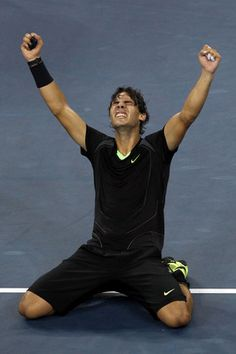 Rafael Nadal wins the US Open (2010) and becomes 7th Man to win career Grand Slam