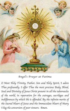 Angel's Prayer at Fatima