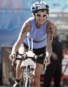 'I just boogie!' Meet the 82-year-old 'Iron Nun', who has completed over 340 triathlons - almost one every month for 30 years. Sister Madonna Buder isn't your average nun, nor your average 82-year-old woman for that matter. Sister Buder is known as the 'Iron Nun' and only ran her first race when she was 48. Trained for triathlons on her nephew's bike and jogs to church.