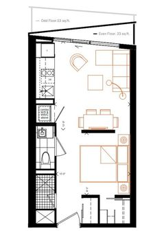 289 sq ft design. How small can you go? Smart House condos test the limits : TreeHugger