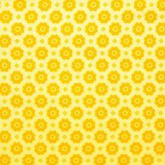 Tela de algodón para patchwork, con flores amarillo dorado sobre amarillo crema. Anchura: 1,40 m. #TelasPatchwork #LatelierdeLucía Overlays, Biscuit, Digital Scrapbooking, Digital Papers, Pretty Patterns, Pattern Paper, Paper Design, Colorful Backgrounds, Decoupage