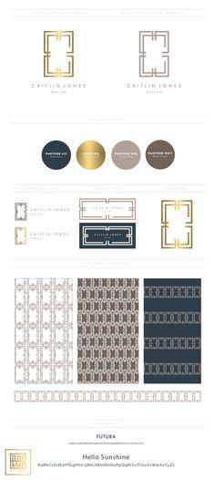 Emily McCarthy Branding | Caitlin Jones Design Branding Board | www.emilymccarthy.com #branding