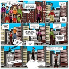 https://Pixton.com/ic:ccbzy98e  After trying different tools to create my own comic, I decided to use www.pixton.com. Firstly ,because you can add indefinite frames. Secondly, because there is a wide range of avatars, objects and settings. Finally, this is a user-friendly tool  and from my point of view, it is very attractive for my students not only to read comics (practising reading skills) but also for writing their own comics. Undoubtedly, I will use it with my students.