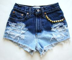 Bleached shorts