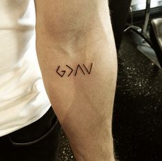 God is greater than the highs and lows- Nick Jonas's tattoo. nice.