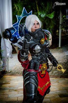 Battle Sister Cosplay Warhammer by karollhell on DeviantArt