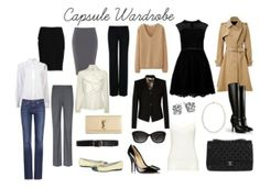 Make 2014 The Year of Your Capsule Wardrobe - professional business wardrobe capsule - swap out the ruffled neck shirt for a blue oxford