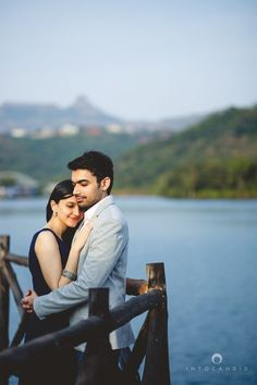 A pre-wedding session at Aamby Valley City, a location close to Mumbai for pre-wedding shoots. Intocandid Photography providing candid, creative and modern wedding photography & film services in Mumbai, India.