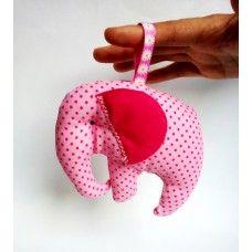 Elephant Toy Rattle
