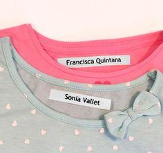 Etiqueta para ropa clásica