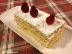 Milles Feuilles.  For the recipe: http://theunperfecthousewives.blogspot.nl/2013/03/recipe-mille-feuilles.html #theunperfecthousewives