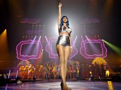 Katy on stage