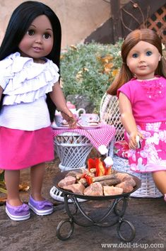 Make a Doll Campfire Part 2: The Patio Fire Pit - Doll It Up