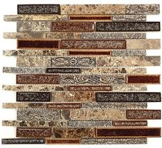 Stone Decorative Tiles Awesome Glsecplnrme  Eclipse Mosaic  Merlot  Tiles  Pinterest Inspiration Design