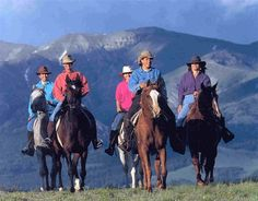 Want to ride horses, again! Bitterroot Ranch in Wyoming. A Dude Ranch that offers Horseback Riding Vacations