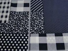 Katoen stof patchwork donkerblauw, ca 145cm breed. Zelfmaakmode voor kinderkleding, hobbystof en decoratiestof. Bestel eenvoudig online! - Bas Bastiaans