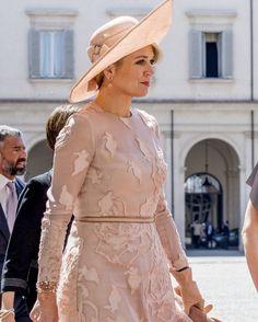 """1,162 Me gusta, 10 comentarios - Queen Maxima (@queen.maxima) en Instagram: """"20-06-2017 Staatsbezoek Italië  Statevisit Italy  #queenmaxima #queen #netherlands…"""""""
