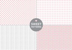 sweet + free patterns from deluxemodern | dear miss modern design. download available on their facebook page.