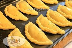 Filipino Food - Chicken Empanada is a favorite snack and party fare that I can serve hot or cold.