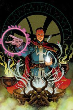ArtVerso — Dave Johnson - Doctor Strange