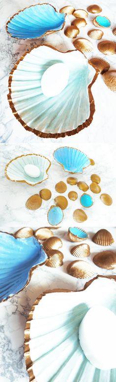 Seifenschale aus Muscheln