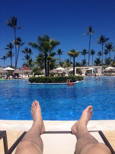 Morning view @BahiaPrincipe Punta Cana!  Service has been excellent as usual !