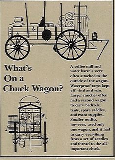The history of the chuck wagon in the American west Horse Wagon, Horse Drawn Wagon, Waterproof Tarp, Travel Camper, Old Wagons, Campaign Furniture, Chuck Box, Cast Iron Cooking, Oven Cooking