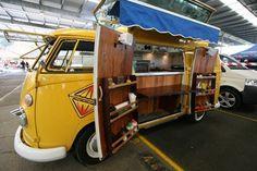 The Jafe Jaffles Vintage Food Truck, Sydney - Australia (photo by Jafe Jaffles).