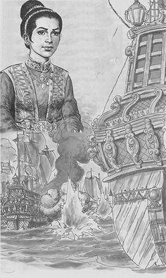 Laksamana-Keumalahayati STRATEGI LAKSAMANA KEUMALAHAYATI MENGUSIR PORTUGIS DI…