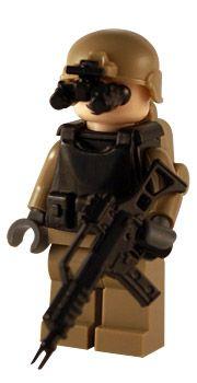 Task Force - Marine - Custom Lego Figure