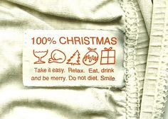 Christmas Instructions