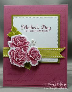 Cream City Angels: PaperTrey Ink - The Sweet Life Mother's Day card