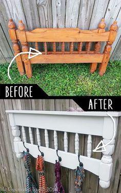 Que tal reaproveitar móveis antigos, para adicionar novas funções a eles?    #decoração #design #madeiramadeira