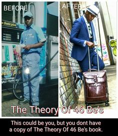 This could be you , but you dont have a copy of The Theory Of 46 Be's book.  Thee Best motivation , inspirational and encouraging book you must have.  Available in all book retailers.  #TheTheoryOf46Bes #Motivationbook #De_philosopher_djkyos