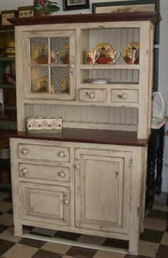 Country Prim Cupboard...