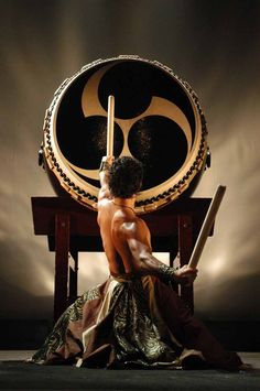 <([Said to be used to summon dragons of different types in times of need.])>  tao drumming