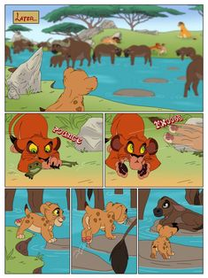 Anything to Win: Page 6 by Percy-McMurphy on DeviantArt Lion King Story, Animation Sketches, Donkey Kong Country, Le Roi Lion, Scooby Doo, Kawaii, Deviantart, My Favorite Things, Drawings