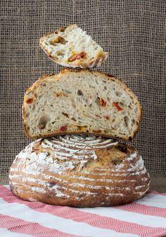 olive, tomato and feta bread #BreadBakers — A Shaggy Dough Story