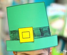 Astrobrights St. Patrick's Day Freebie by First and Kinder Blue Skies