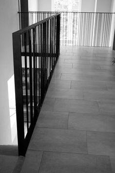 Treppengeländer- Eisen