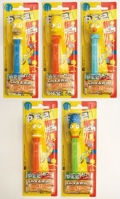 PEZ - The Simpsons - EU collection