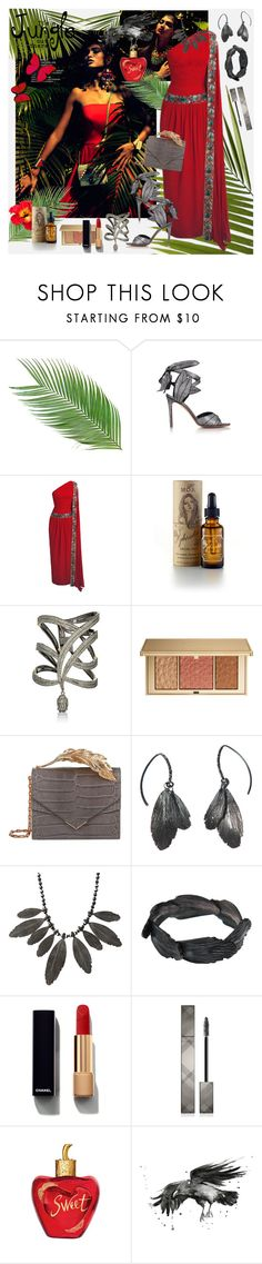 """Jungle Goddess"" by julyralewis ❤ liked on Polyvore featuring Vivienne Westwood, MOA Magic Organic Apothecary, Carole Shashona, Estée Lauder, RALPH & RUSSO, AURUM by Guðbjörg, Chanel, Burberry and Lolita Lempicka"