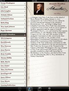 Constitution for iPad ($0.00)