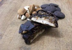Raw Vegan Chocolate Covered Caramel Nougat Bars | This Is My Inspiration