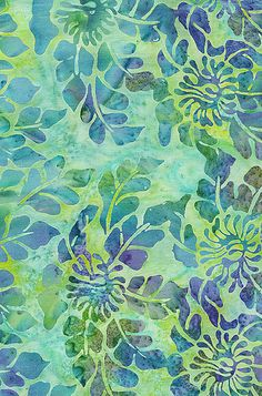 batik fabric | Batik Fabric Daiquiri Jungle from Bali | Flickr - Photo Sharing!
