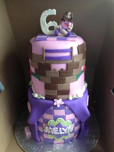 Lego Friends Cake!